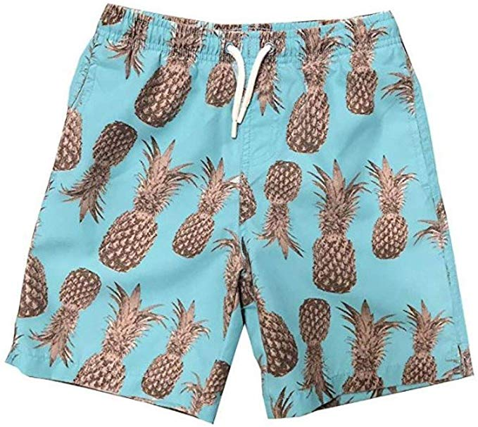 INGEAR Little Boys Quick Dry Beach Board Shorts Kids Swim Trunk Swimsuit Beach Shorts Swim Trunk for Boys
