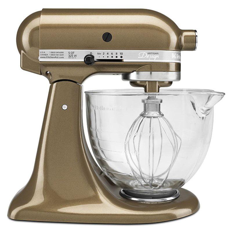 KitchenAid KSM155GBTF 5 qt. Artisan Series Stand Mixer wi...