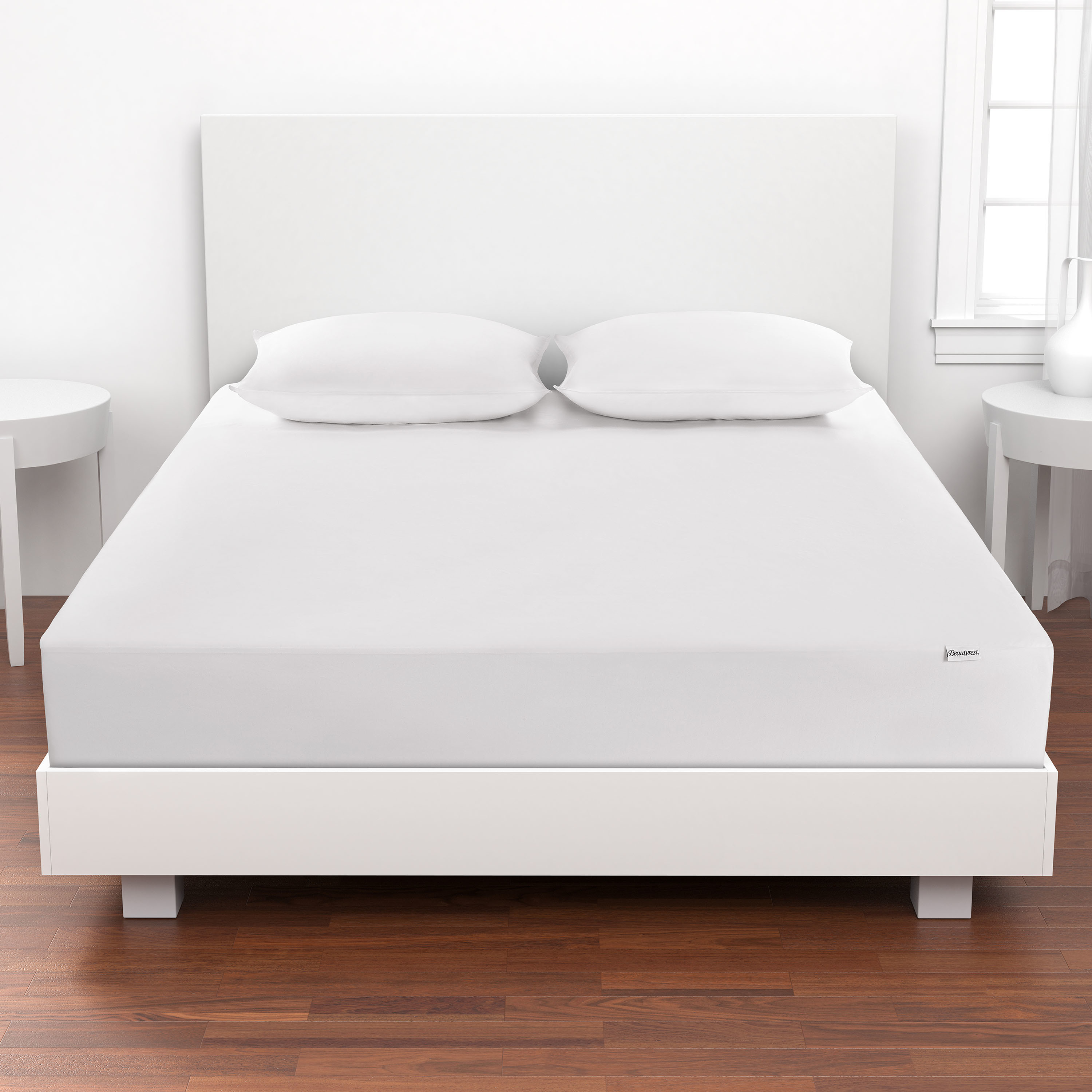 Beautyrest Silver Naturally Cool Mattress Protector in Multiple Sizes