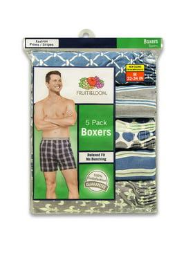 45c88c3c0d8e Product Image Men's Dual Defense Fashion Print/Stripe Boxers, 5 Pack