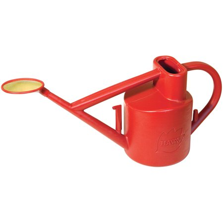 Haws Plastic Watering Can (Haws Practican 1.6 gal Outdoor Plastic Watering Can, Red V119 )