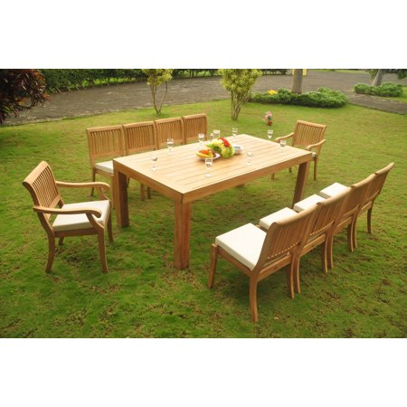 (Teak Dining Set: 8 Seater 9 Pc: 82