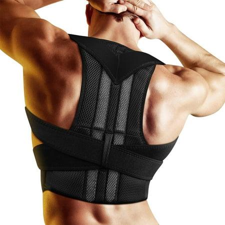 Posture Corrector Brace Adjustable Back Support Humpback Correction Belt Back Neck Pain Relief for Men