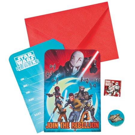 Star Wars Rebels(TM) Invitations - Star Wars Invitation