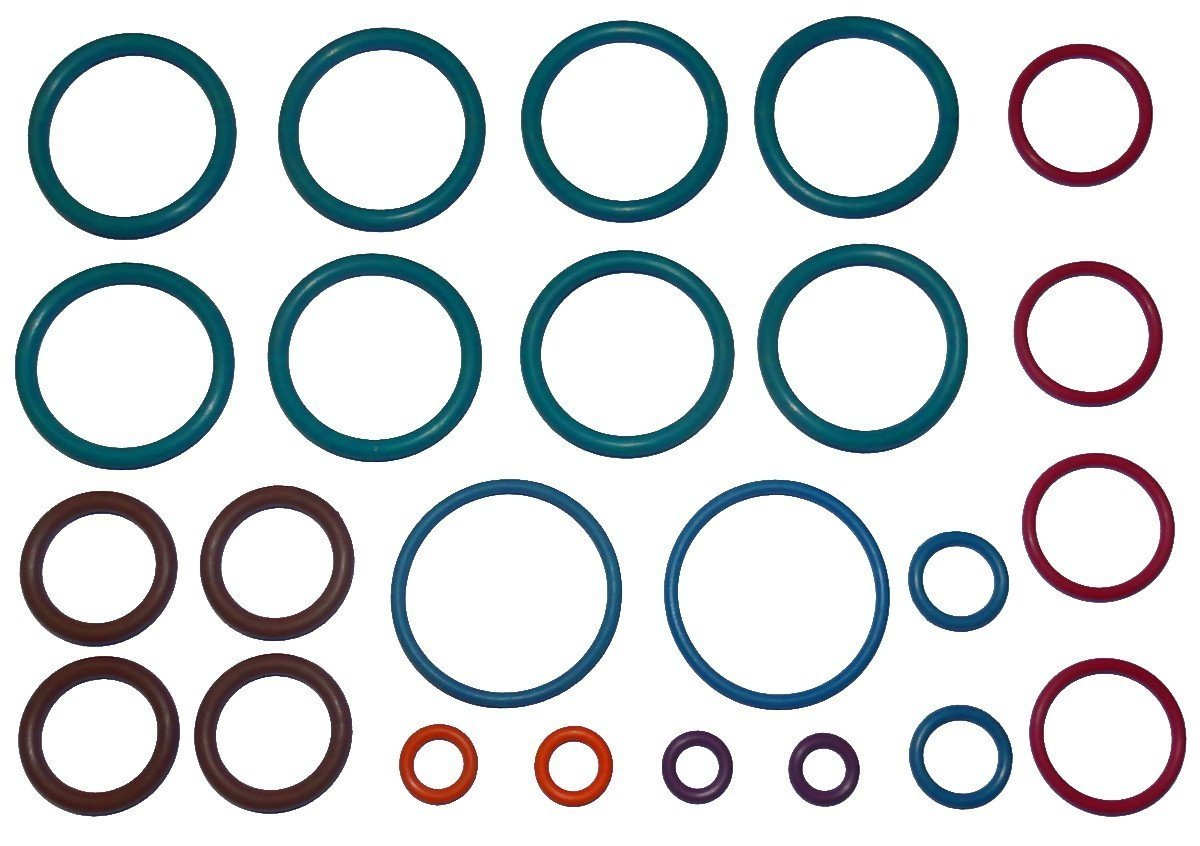 Crosman Benjamin Marauder BP2563   BP2564 .25 Air Rifle Full 2x COLOR CODED Captain O-Ring Rebuild Kit by