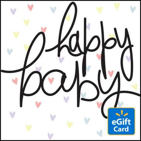 Baby Gift Certificates - Happy Baby Walmart eGift Card