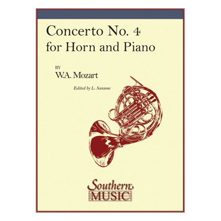 Southern Concerto No. 4, K495 Southern Music Composed by Wolfgang Amadeus Mozart Arranged by Lorenzo Sansone (Lorenzo Music)