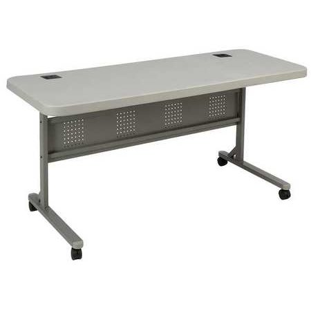 Mobile Training Table, National Public Seating, BPFT-2460 - Mobile Folding Buffet Table