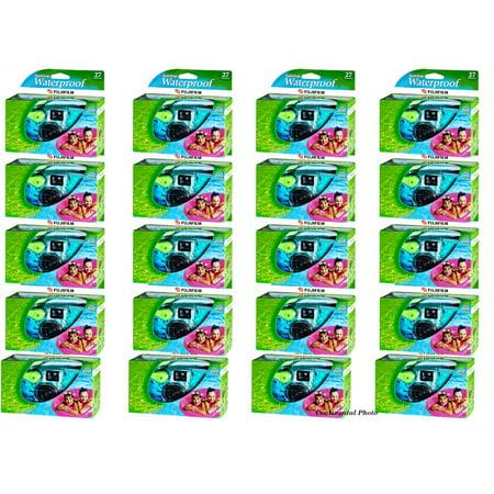 20 Fuji QuickSnap Waterproof Underwater Disposable Single Use Cameras