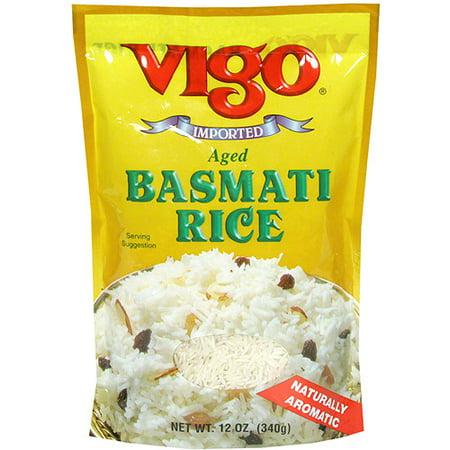 Vigo Aged Basmati Rice, 12 oz (Pack of 6)
