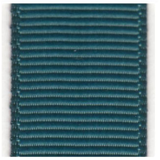 Papilion R074200060347100Y . 25 inch Grosgrain Ribbon 100 Yards - Teal