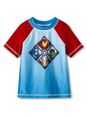 d90735ad2c0 Product Image Marvel Little Boys  Avengers Rash Guard ...