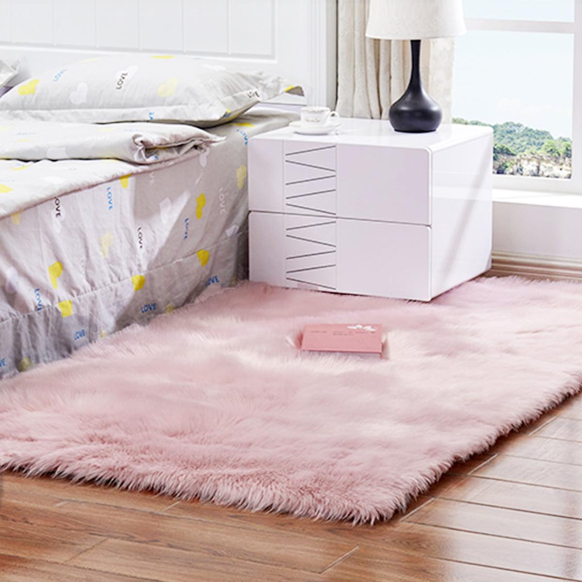 Long Plush Ultra Soft Fluffy Rugs Anti-Skid Shaggy Fluffy