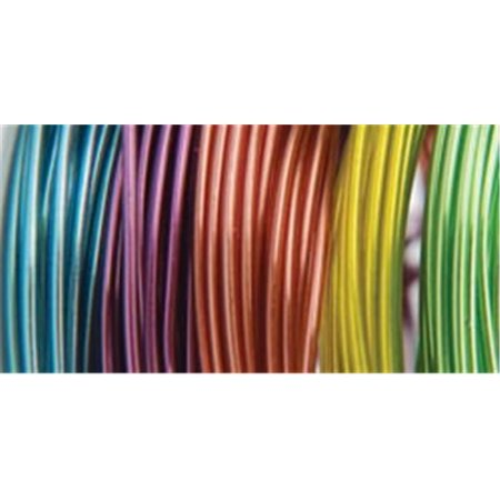 Plastic Coated Wire - Plastic Coated Fun Wire Value Pack 9 Foot Coils