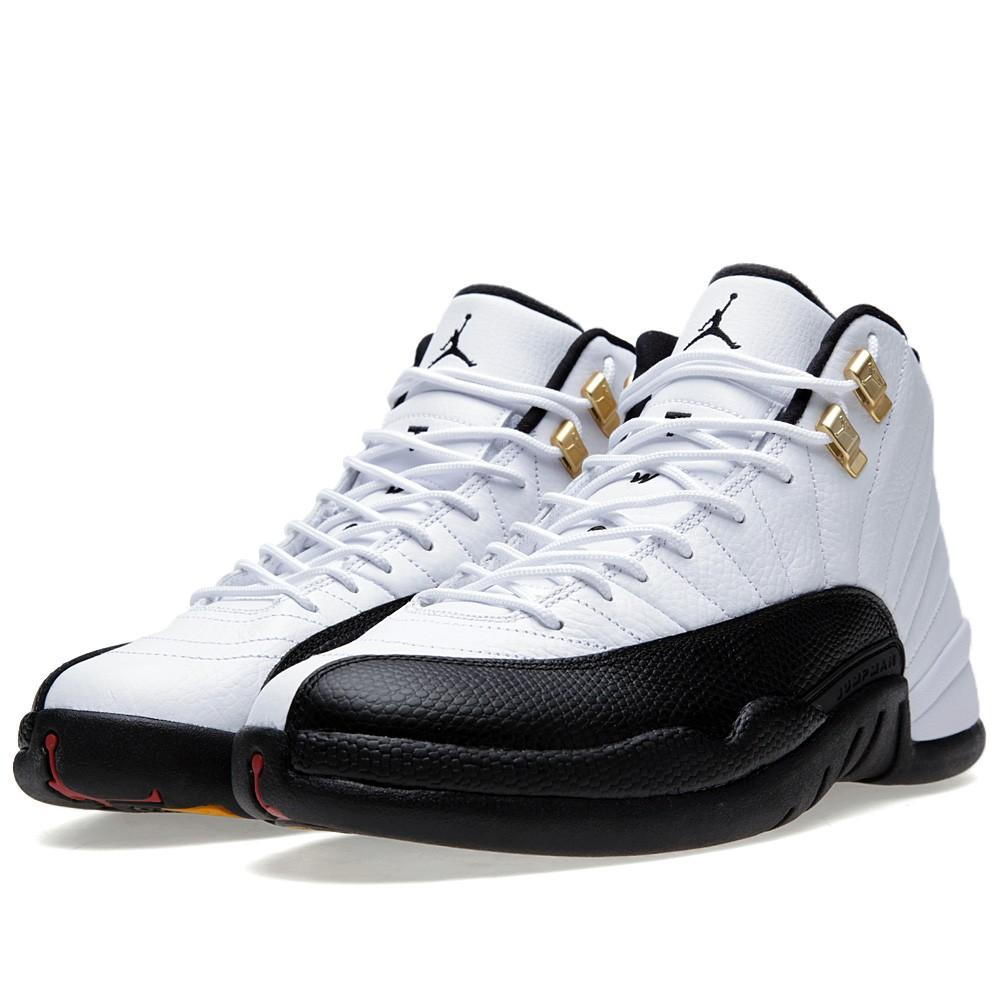 Nike 12 RETRO 'TAXI 2013 RELEASE' - 130690-125