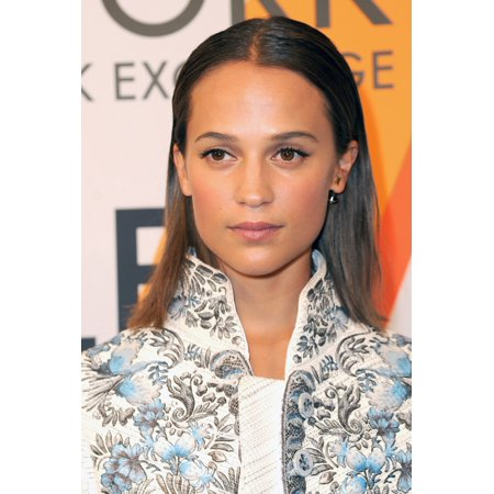 Alicia Vikander At Arrivals For Volez Vogez Voyagez  Louis Vuitton Exhibition Launch 86 Trinity Place New York Ny October 26 2017 Photo By Kristin CallahanEverett Collection Celebrity](Halloween Party October 26 2017)