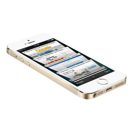 Apple iPhone 5s 16GB Unlocked GSM 4G LTE Dual-Core Phone w/ 8MP Camera -