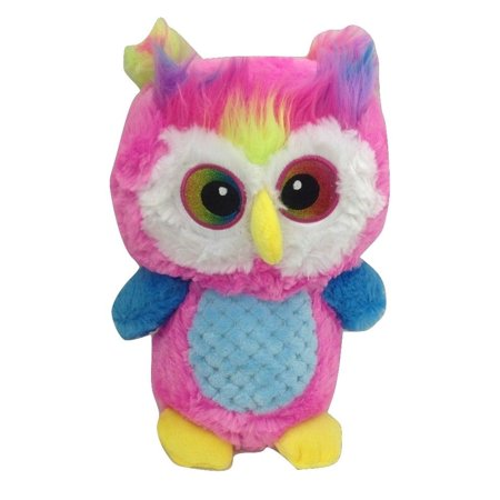 World Plush Pink Owl Bright Amp Colorful Plush Stuffed Animal Toy
