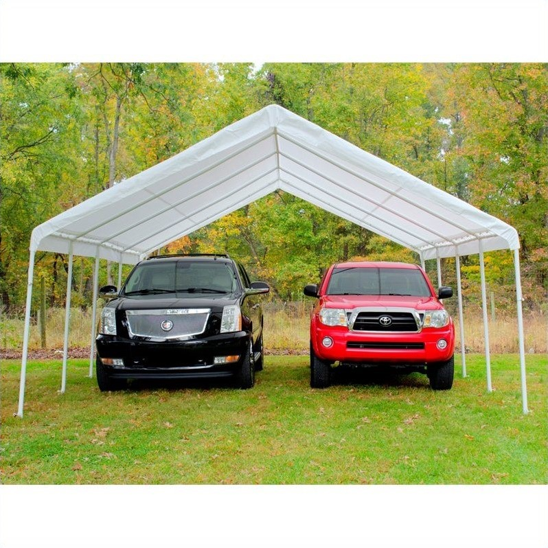 quik shade mercantile c100nl 10 x 10 instant canopy with wall panel white walmartcom - U Shape Canopy 2015