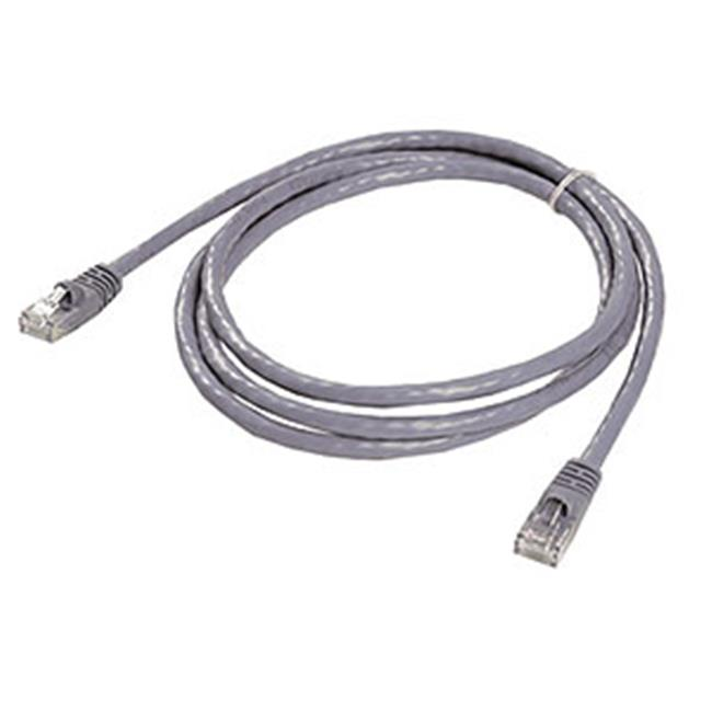 Ziotek 119 5276 CAT6 Patch Cable, with Boot 5ft, Grey