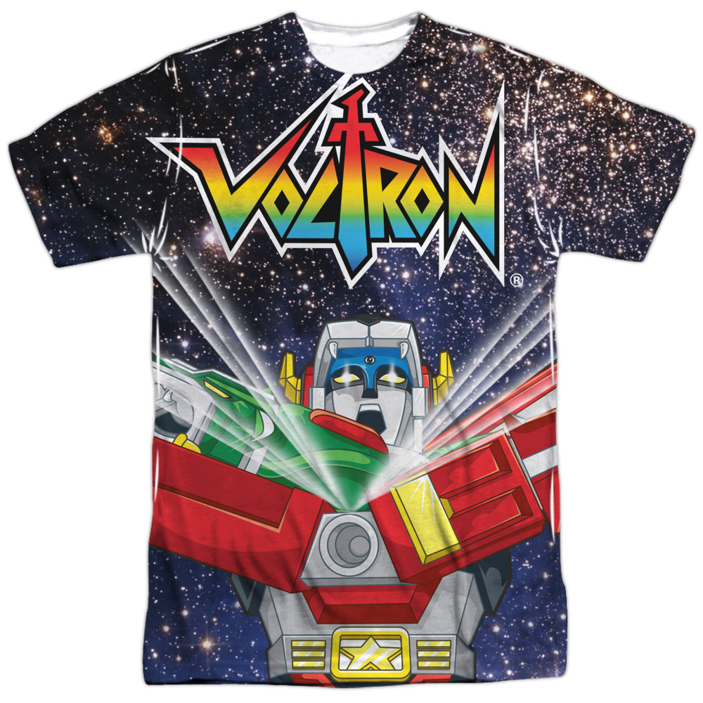 Voltron Space Defender Mens Sublimation Shirt