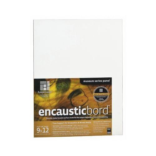 "Encausticbord Painting Panel Size: 12"" H x 12"" W"