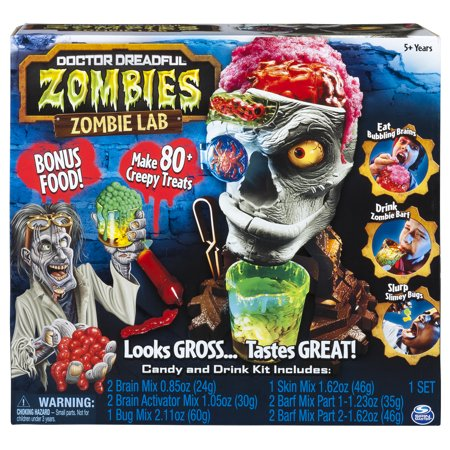 Doctor Dreadful Zombies - Zombie Lab with Candy and Drink Maker (Food And Drink Halloween Costumes)