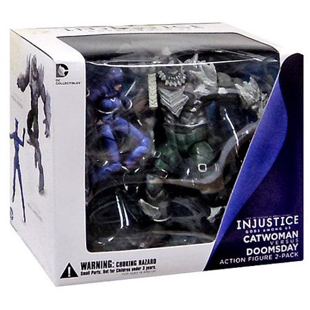 DC Injustice: Gods Among Us Doomsday & Catwoman Action Figure - Baby Catwoman