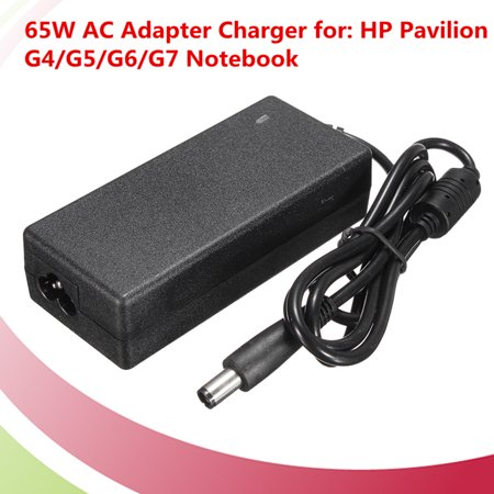 65W AC Adapter Charger Cord Replacement power F/ HP Pavilion G4 G5 G6 G7 Laptop ()