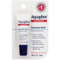 (3 pack) Aquaphor Lip Repair .35 fl. oz. Carded Pack