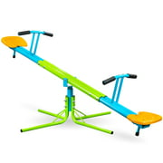 Pure Fun Heavy Duty 360-Degree Swivel Kids Seesaw, Indoor or Outdoor, 175lb Weight Limit