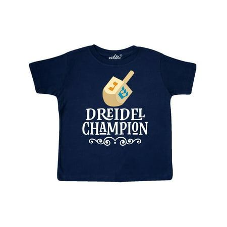 (Hanukkah Dreidel Champ Toddler T-Shirt)