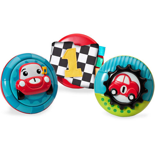 Infantino Pop & Play 3-Piece Activity Pods, Boy