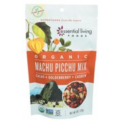 Essential Living Foods Machu Picchu Mix - Cacoa, Mulberry And Goji - pack of 6 - 6 Oz.