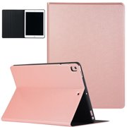 "Allytech SlimShell Case for New iPad 10.2"" (7th Gen), Ultra Thin Folio Flip Stand Smart Cover with Auto Sleep Wake Shock-absorbing Anti-Scratch Case Cover for Apple iPad 10.2"" 2019 Released,Rosegold"