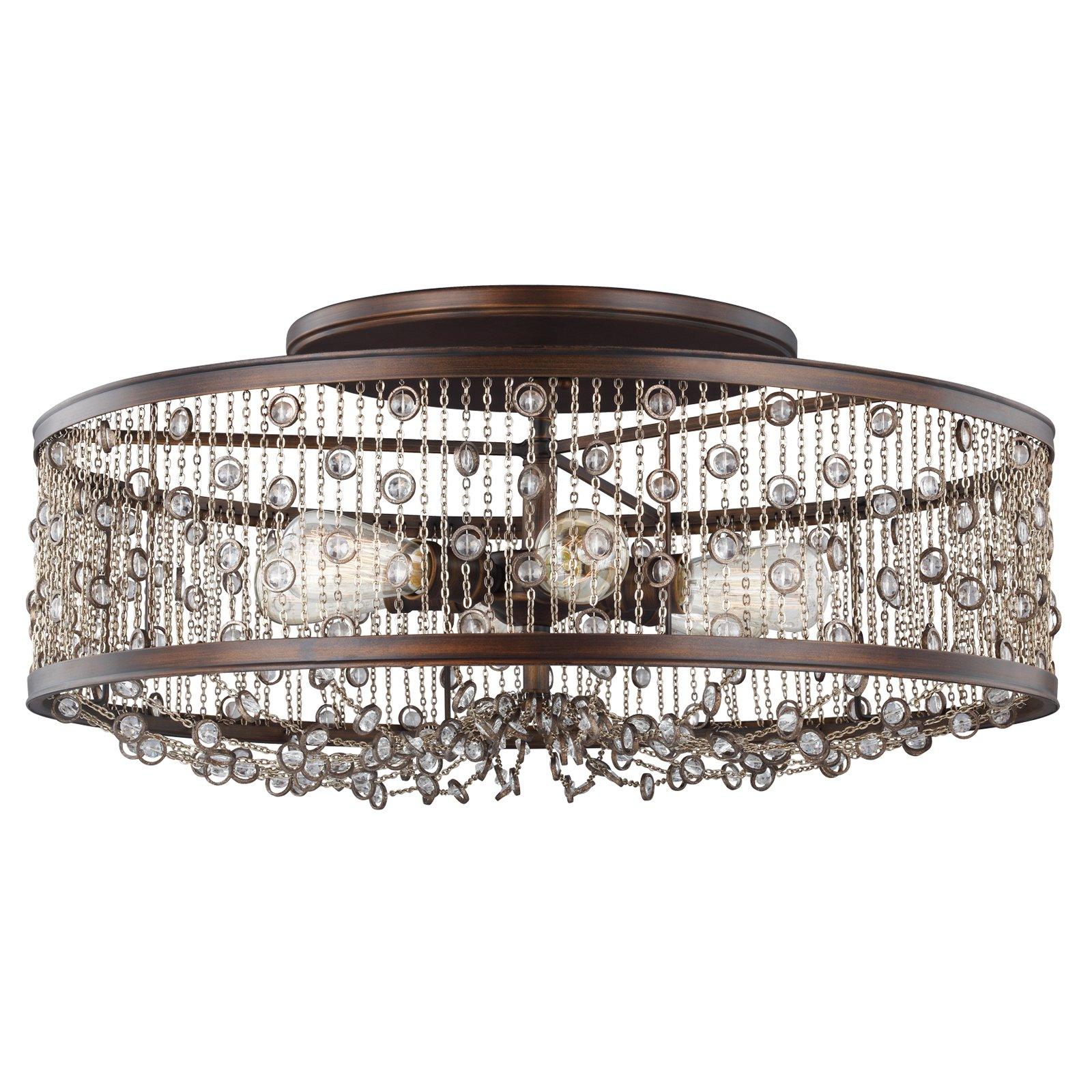 Feiss Colorado Springs SF331CSTB Semi Flush Mount Light