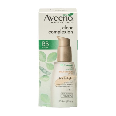aveno clear complextion bb cream spf 30 fair to light 2 5. Black Bedroom Furniture Sets. Home Design Ideas