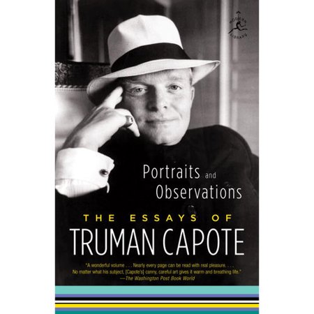 truman capote critical essays Truman capote, at just 21 years old, was seen as the most promising young talent of 1945 his masterpiece, in cold blood, proved to be an amalgamation of his journalistic talent this collection of critical essays on the author offers fresh avenues for exploring and discussing the works of the.