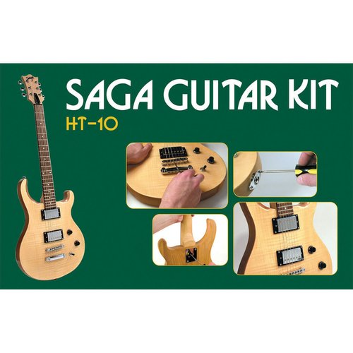 Saga HT-10 Electric Guitar Kit, PS Style