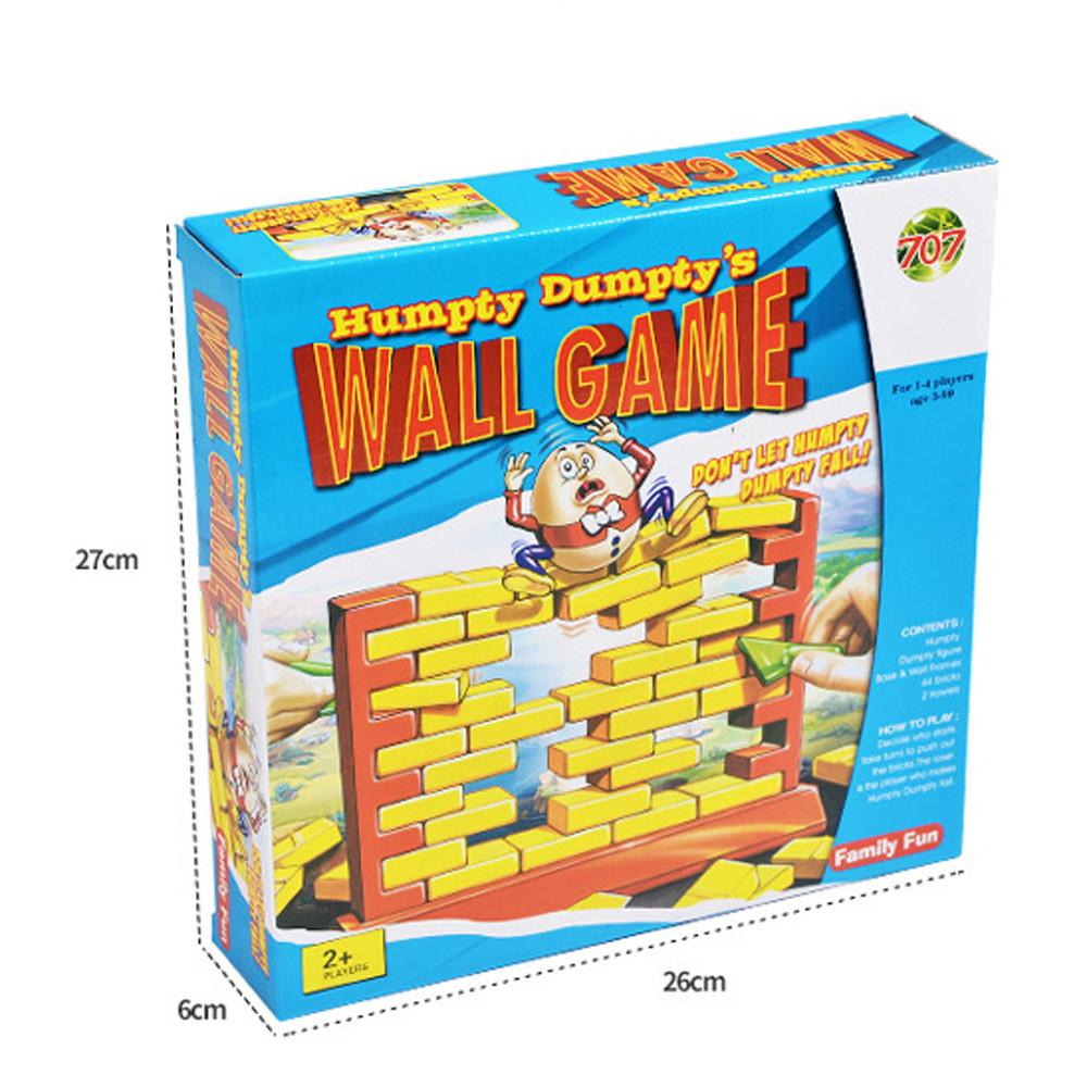 DZT1968Wall Game Interactive 3D Plastic Parent-Child Family Game Fun Christmas Gift