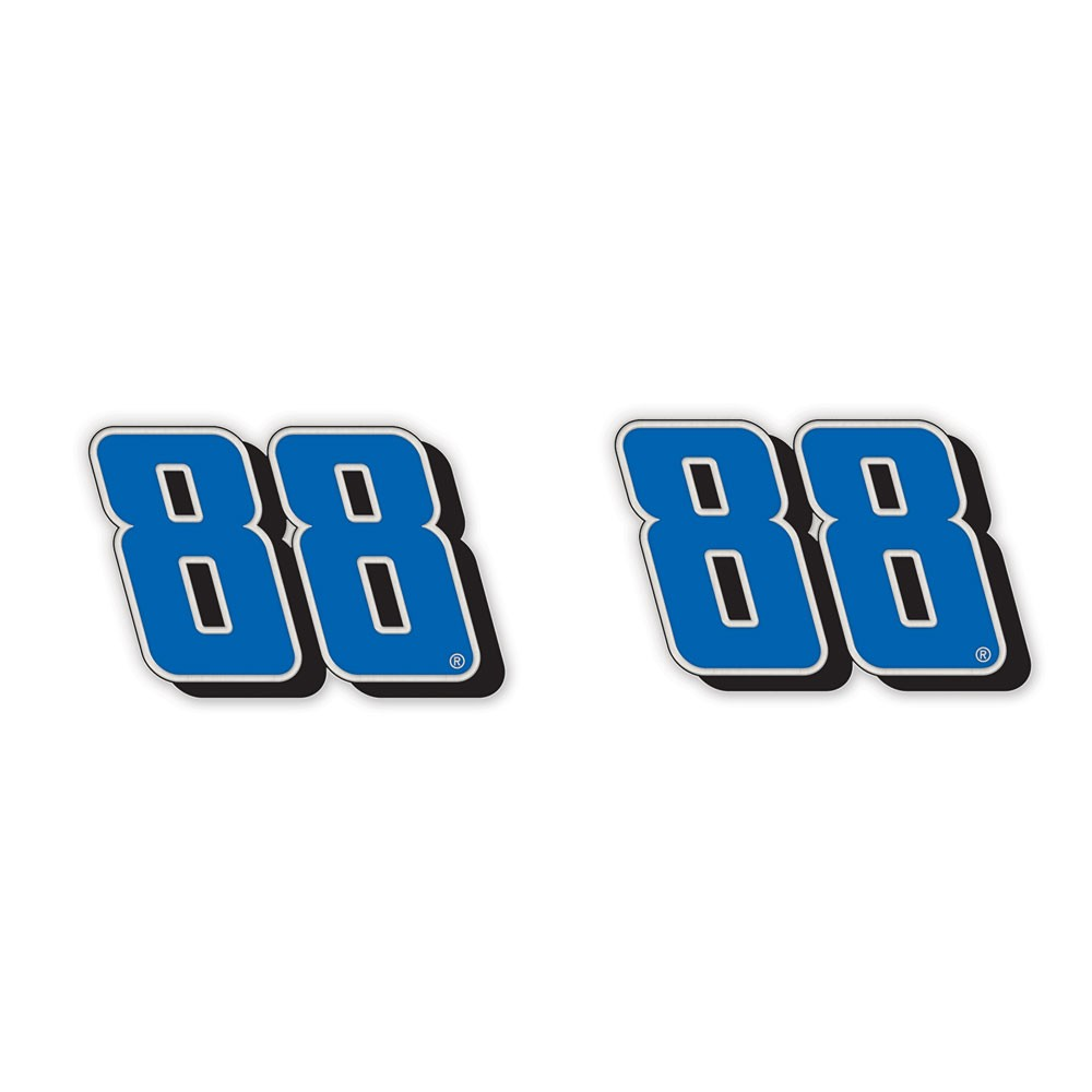 Dale Earnhardt Jr. Official NASCAR  Earrings by Wincraft