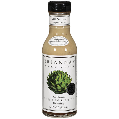 Brianna's Real French Vinaigrette Dressing, 12 oz