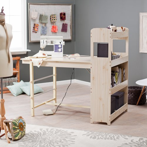 Beldin Craft Table - White Washed