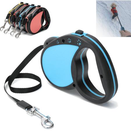 5M/16FT Retractable Dog Leash Extendable Pet Dog Walking Training Leash Nylon Automatic Lead -4