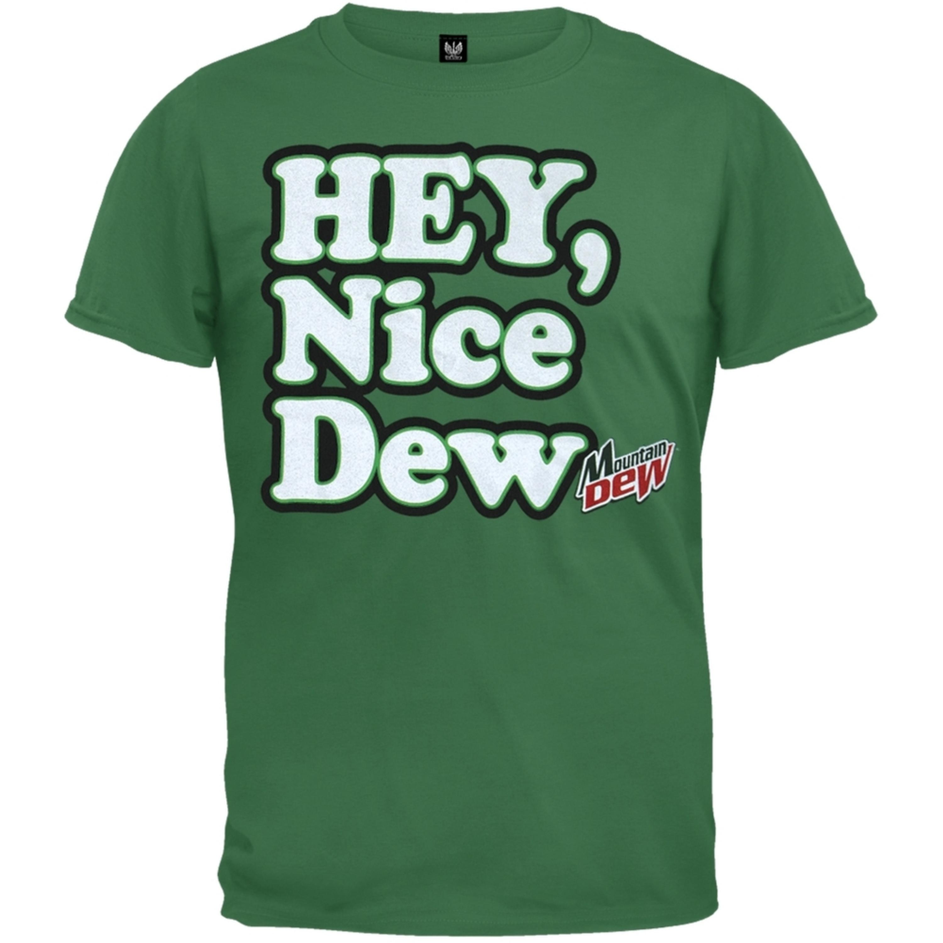 Mountain Dew - Hey Nice Dew Soft T-Shirt