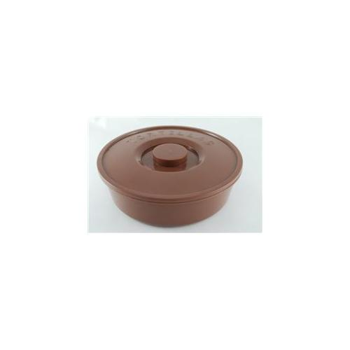 DDI 1231573 Plastic Tortilla Container- Brown Case Of 192