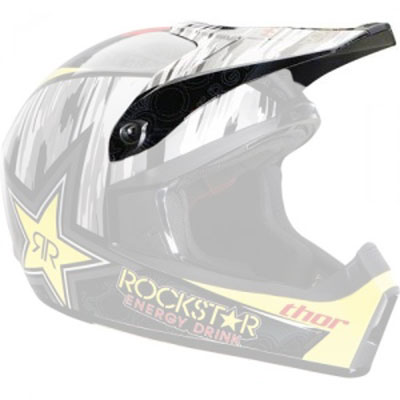 Thor Quadrant S11 Replacement Visor Kit Rockstar