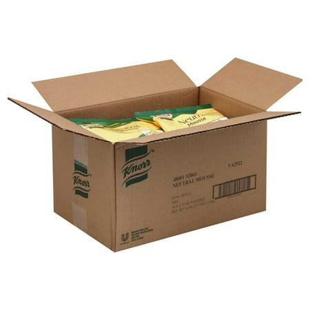 10 Packs   Unilever Bestfoods Knorr Neutral Base Mousse Mix  5 75 Ounce    10 Per Case