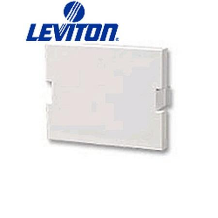- Leviton 41294-2BI Blank Module MOS Insert - Ivory