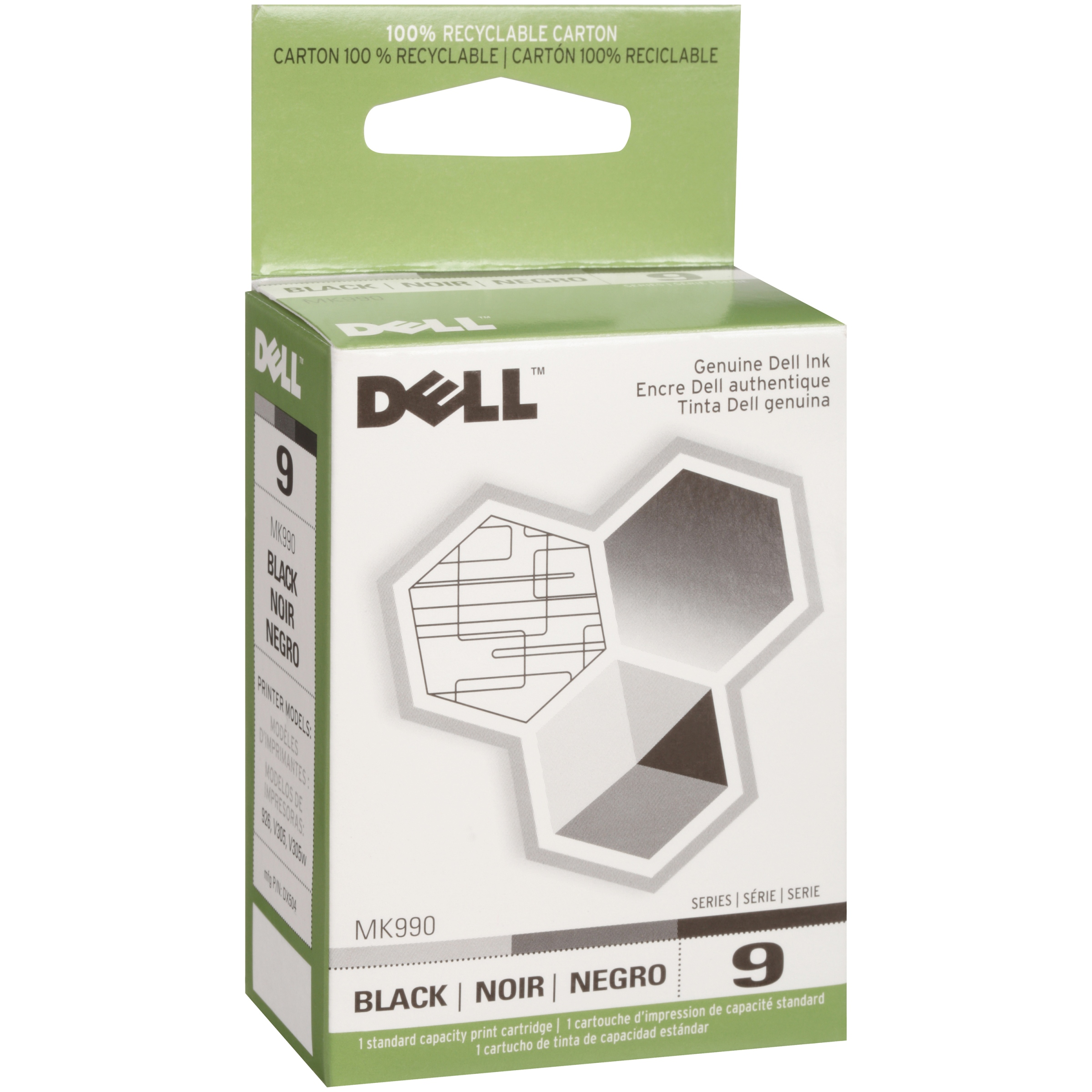 2-Black//1-Color SuppliesMAX Compatible Replacement for Dell 926//V305//V305W Inkjet Combo Pack R0992/_2PK//R0993/_1PKMP Series 9